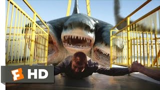 3 Headed Shark Attack (6/10) Movie CLIP - All Aboard for Dinner (2015) HD