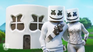 MARSHMELLO BUYS HIS FIRST HOUSE! (A Fortnite Short Film)