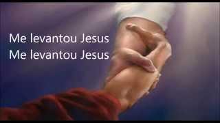 Letra: Me levantou Jesus - Cristina Mel