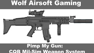 Pimp My Gun: WE Open Bolt Scar-L Custom Loadout