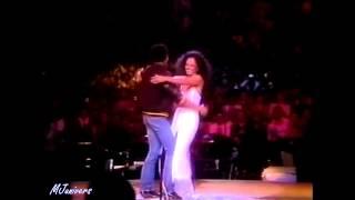 Michael Jackson & Diana Ross - Upside Down - HD