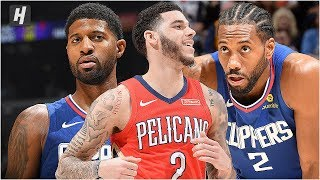 New Orleans Pelicans vs Los Angeles Clippers - Full Game Highlights | November 24, 2019 NBA Season