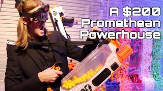 First Review: Nerf Rival PROMETHEUS (A $200 Titan!)