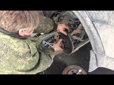 Дела самосвальные,ремонт Вольво на коленке,замена задней ступицы!