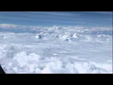 The heavenly flight, Delhi to Kathmandu