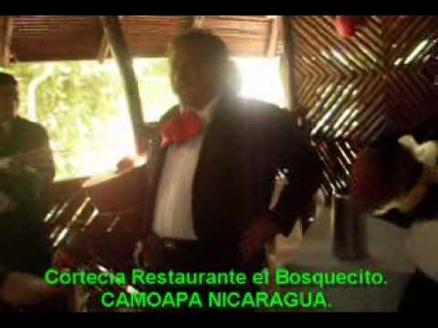 Mariachis de Camoapa.Restaurante el Bosquecito. Camoapa Nicaragua