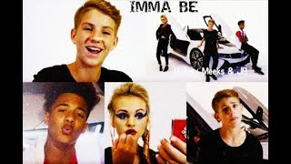The Black Eyed Peas - Imma Be (MattyBRaps ft Ivey Meeks & JB) (Lyrics)