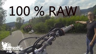 Ktm exc 450 supermoto | 100 % RAW | Part 1