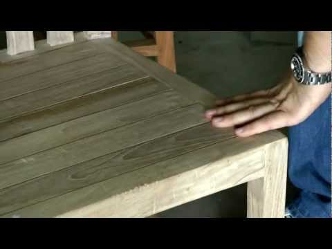 צבע וגימור של ריהוט עץ