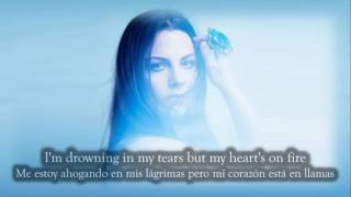 Amy Lee (Evanescence)- Love Exists +Lyrics+letra Español  (L'amore esiste)