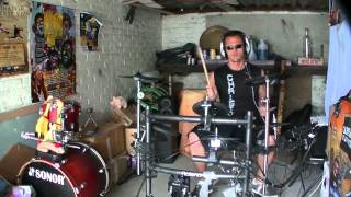 Gunther - Ding  dong song -Tralala remix -drum cover-