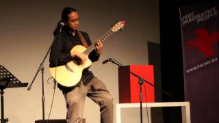 Hit Me Up | Az Samad - Percussive Fingerstyle Guitar (Live at The Songwriters Showcase)