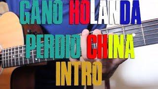 """Como tocar intro de """"Gano Holanda Perdio China"""" CALIBRE 50 (TUTORIAL DE GUITARRA) @AldoGarcia"""