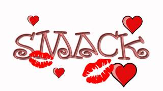 Smack Kiss Beijo Cartoon