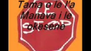 Tama o le I'a- Manava i le okesene