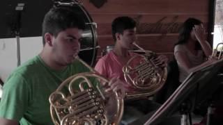 Jóvenes músicos cumplen el sueño de tocar en París. #ColombiaFrancia2017