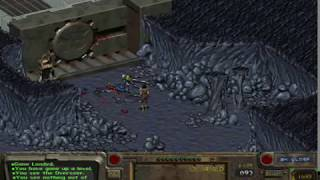Fallout 1: Killing the Overseer UNARMED!