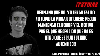 PAUL PARADOX | DOPAO | (Happy Boys 10#) ( Letra y Descarga)