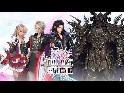 Final Fantasy Brave Exvius Review, prezentat pe tableta Huawei MediaPad M3 (Android, iOS)