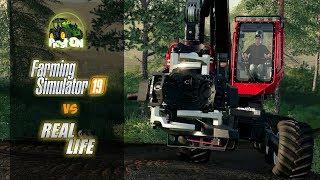Farming Simulator 2019 | FS 19 | GAME vs. REAL LIFE | NEW GAMEPLAY | KOMATSU