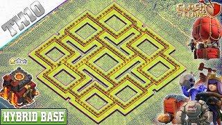 Base Coc Th 10 Anti Loot 2
