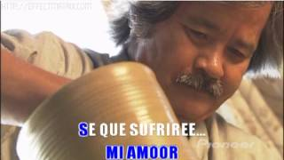 GUINDA - AMOR INCOMPARABLE -  KARAOKE