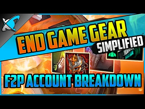 """""""End Game"""" Gear SIMPLIFIED 