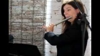 "TEMA DE ""A BELA E A FERA"" - Flauta - Silvana Santos, Saxofone - Luciano Lambert, Piano - Marcos Gama"