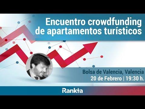 Streaming - Encuentro crowdfunding de apartamentos turísticos