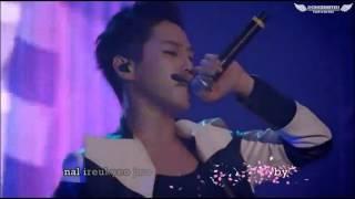 [ENG SUB + KARAOKE SUB + ROM + HANGUL] B.A.P - Dancing in the Rain LIVE @ Warrior Begins #14