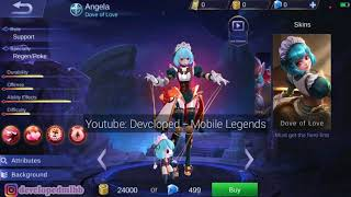 NEW ANGELA SKIN(DOVE OF LOVE)