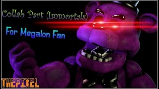 Collab Part for Megalon Fan (Immortals)