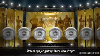How to get black ball player in pes 2018 android mobile