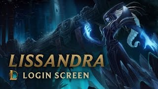 Lissandra, the Ice Witch | Login Screen - League of Legends