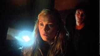 """Bellarke Scenes (44) """"ready to be a badass clarke?"""" [THE 100 S01E08]"""