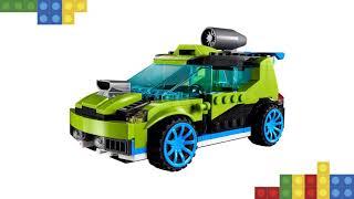 Lego Coche de rally a reacción 31074: Revisión