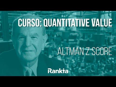 Altman Z score, la fórmula detector de quiebras, es un sencillo método de análisis de la fortaleza financiera de una empresa. El modelo fue creado en 1960 por Edward Altman, profesor de la Universidad de Nueva York. Lo que nos dice este método son las probabilidades de quiebra establecida por una combinación de ratios financieros.