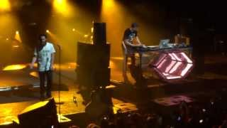 "Flume & Chet Faker - ""Drop the Game"" Live @ Thebarton"