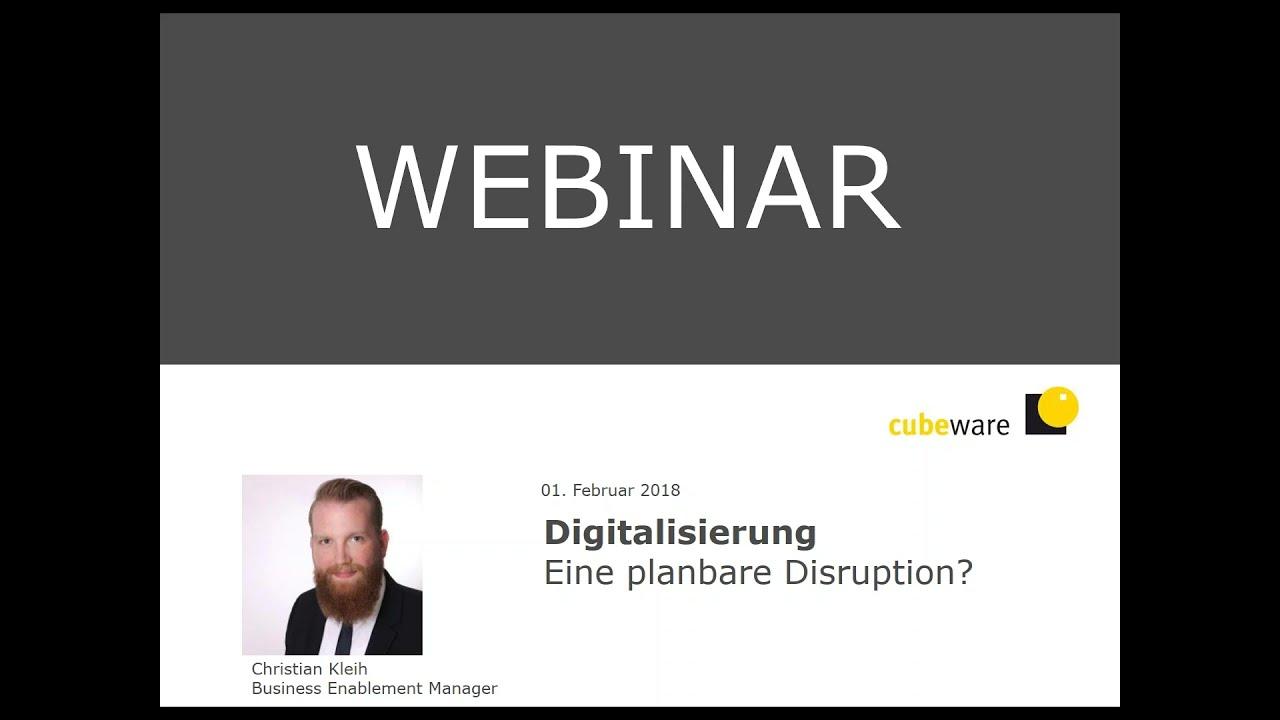 Planbare Disruption