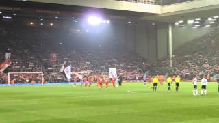 "Liverpool - ""You'll never walk alone"" live at Anfield"