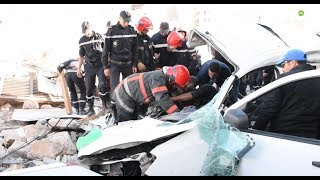 Deux morts et plusieurs blessés dans l'effondrement d'un mur à Casablanca