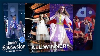 All winners of the Junior Eurovision Song Contest! (2018-2003)