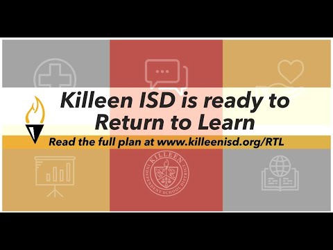 Return To Learn At KISD img