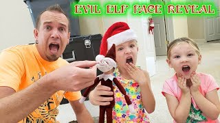 Evil Elf on the Shelf Face Reveal!!! Chucky Disguised as Gingerbread Man!