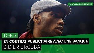 TOP 5 - Publicité : Didier Drogba en contrat avec une banque