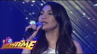 "Lani's sings own version of ""Anak"""