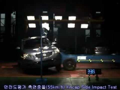 2011 SsangYong Korrando/New Actyon NCAP Side Impact (KNCAP)