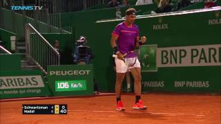 Nadal reaches semi-finals, Goffin shocks Djokovic | Monte-Carlo Rolex Masters 2017 Day 6 Highlights