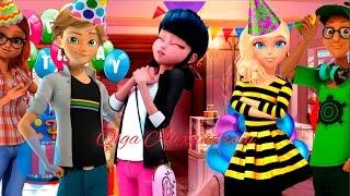 Miraculous Ladybug Marinette saw Adrien and Alya together 😲   Miraculous Ladybug New Episode 2017