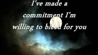 Staind-Right Here Waiting (Lyrics)